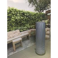 Justfire Hoes / Cover Lounge Heater 1.35m Zwart