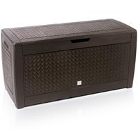Deuba Opbergdoos - box - Bruine doos - 119x48x60cm