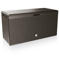 Generic Opslagbox Rato Plus bruin 114x47x60cm met wielen