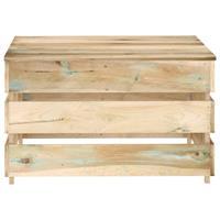 vidaXL Tuintafel pallet geïmpregneerd grenenhout