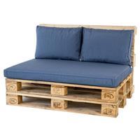 Madison Palletkussenset Lounge Blauw - 3 Delig