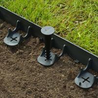 Nature Tuinrand en grondpennen zwart