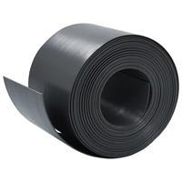 vidaXL Tuinbegrenzing 10 m 15 cm PE zwart