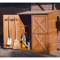Luxe houten tuinberging 149 x 78 x 163 cm