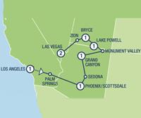 Western Trails (9 dagen) - Amerika - Zuidwesten - Los Angeles