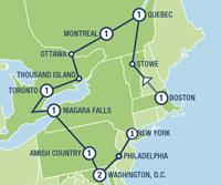Patriot Trails (11 dagen) - Amerika - Noordoosten - Boston