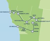 Splendors of the West (12 dagen) - Amerika - Zuidwesten - Los Angeles