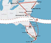 Best of the East & Florida (19 dagen) - Amerika - Noordoosten - New York