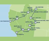 National Parks Explorer (17 dagen) - Amerika - Zuidwesten - San Francisco