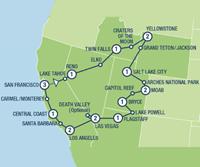 Western Bonanza (19 dagen) - Amerika - Zuidwesten - San Francisco