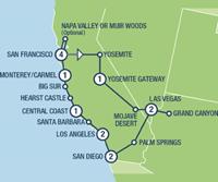 West Coast Insider Small Group (15 dagen) - Amerika - Zuidwesten - San Francisco