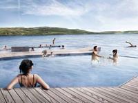Vök Baths in Egilsstaðir