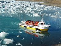 Jökulsárlón Glacier Lagoon ijsbergenmeer boottocht
