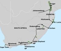 Het Beste van Zuid-Afrika (22 dagen) - Zuid-Afrika - Johannesburg
