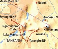 Ongerept Tanzania incl. Selous & Zanzibar (16 dagen) - cat. Standard - Tanzania - Arusha
