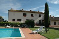 Authentiek appartement in Pienza met zwembad