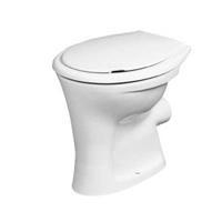 Eurovit staand toilet vlakspoel PK, wit