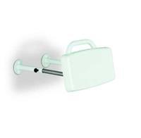Rugleuning  Linido Aangepast Sanitair 40x26,5 cm Kunststof Wit