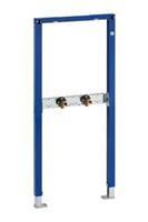 Duofix inbouwelement bad/douche mengkraan staal (hxbxd) 1120x500x60mm uitvoering opbouwkraan