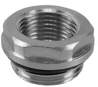 Korver radiator reduceerplug 1/2x3/8 met o ring