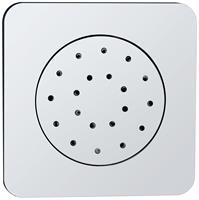 Mueller Cube Inbouw verstelbare zijdouche vierkant 135x135 ABS chr