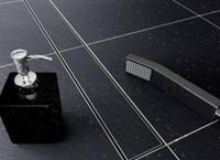 Mueller Wiesbaden RVS tegelrooster tbv douchegoot 100x7cm