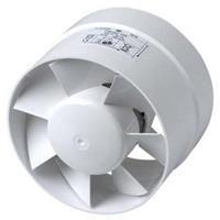 Plieger ventilator cilinder 188m³ ø 125 mm wit