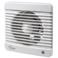 Plieger ventilator basic 98m³ ø 100 mm met timer wit