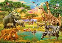 Kinder fotobehang African Animals