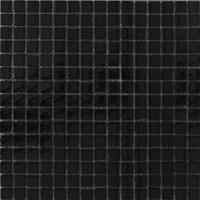 Alfa Mosaico Mozaïek tegel Noche zwart glans 30x30cm