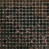 Alfa Mosaico Mozaïek tegel glas Vision donkerbruin 32,7cm x 32,7cm
