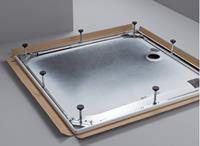 Bette potensysteem voor douchebak 100x100 cm. staal