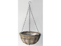 Vanderleeden Hanging Basket Rotan Antique Grey D40CM