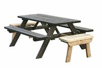 Woodvision Picknicktafel Deluxe opklapbaar 300 cm