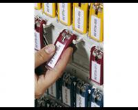 Durable Key clip sleutelhanger Rood. 25 (pak 6 stuks)