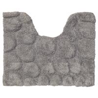 Sealskin Pebbles toiletmat katoen 50x60 cm grijs