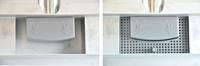 Wiesbaden 3e generatie losse kunstof filter met kunstof sifon