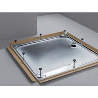 Bette potensysteem voor douchebak 75x70 cm. staal