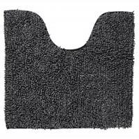 Sealskin Misto toiletmat chenille katoen 60x55 cm zwart