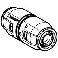 Geberit Push Fit Rechte koppeling 16mm PVDF 650500001