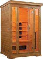 Badstuber Infrarood Sauna Carmen 120x120 cm 1750W 2 Persoons