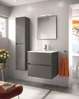 Muebles Project badkamermeubel mat grijs 70cm