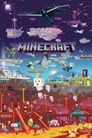 Minecraft World Beyond Poster 61x91,5cm
