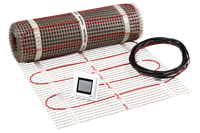 Danfoss EFTI 150 vloerverwarming set, 5m2, 750W, (lxbxd) 1000x50x0.35cm, 230V