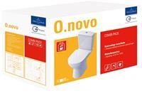 Villeroy & Boch O.novo Combipack duoblokcombinatie AO inclusief toiletzitting met softclose en quickrelease, wit