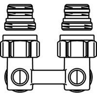 Oventrop H onderblok Multiflex F 1/2 x3/4 haaks 1015884
