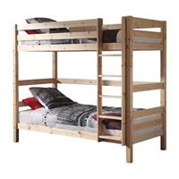 vipack stapelbed (182 cm) Pino met opberglades - grenenhout