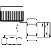 Oventrop thermostatische radiatorafsluiter AV9 3/8 recht 1183803