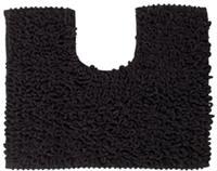 Sealskin Twist toiletmat microfiber 45x50 antraciet
