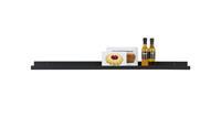 Woood fotolijst wandplank zwart gelakt MDF 120 cm